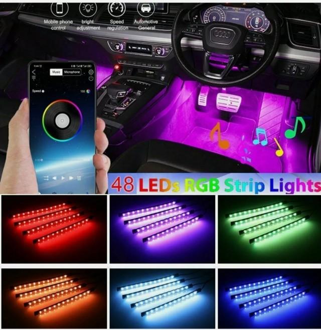 اضاءة زينه لداخلية السيارة