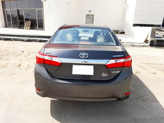 Toyota Corolla model 2015