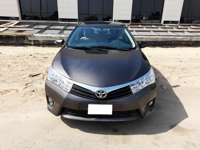 Toyota Corolla model 2016