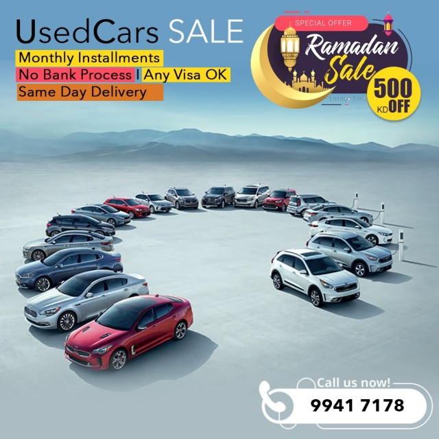 Used Cars for Sale by Installments