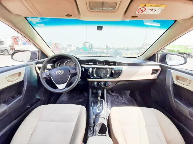 Corolla model 2015