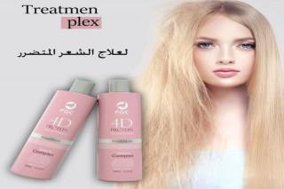 علاج الشعر المتضرر