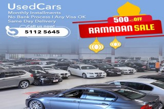 Used Cars for Sale on Installments