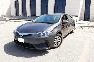 Corolla model 2018