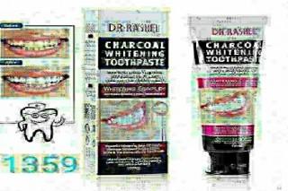 معجون مبيض الاسنان