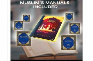 Book lamp Qura'n speaker. SQ-